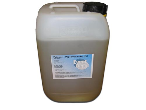 Popcornöl (Palmöl) 5 Liter (5 kg)